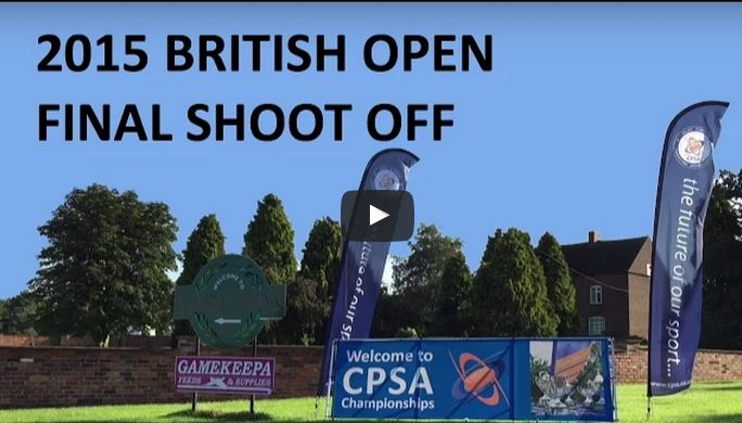 2015 British Open final shoot-off sporting clays