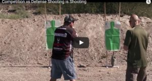 Competition shooting vs. Defensive Shooting