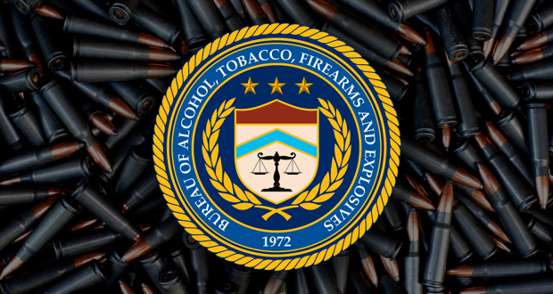 ATF logo and ammo